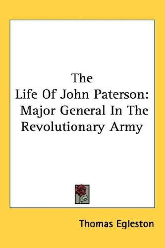 Download The Life Of John Paterson