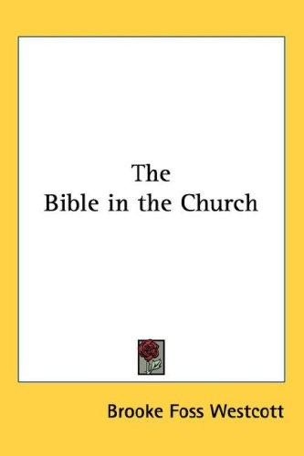 Download The Bible in the Church