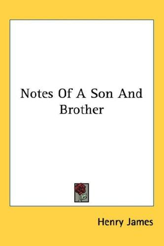 Download Notes Of A Son And Brother