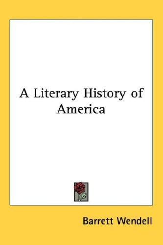 A Literary History of America