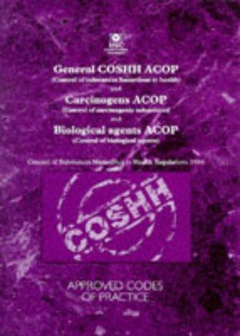 Download General Control of Substances Hazardous to Health and Carcinogens Approved Codes of Practice and Biological Agents Approved Codes of Practice (Legal)