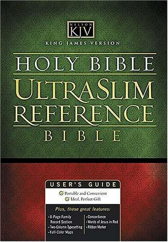 Download KJV UltraSlim Center-Column Reference Bible