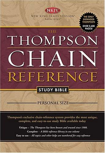 The Thompson Chain Reference Study Bible – Personal Size