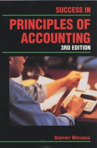 Success in Principles of Accounting (Success Studybooks)
