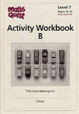 Maths Quest: Activity Workbook B
