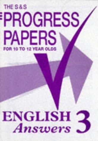 S and S Progress Papers (The S & S Progress Papers)