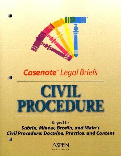 Download Casenote Legal Briefs