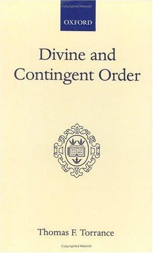 Download Divine and contingent order