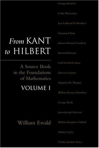 From Kant to Hilbert