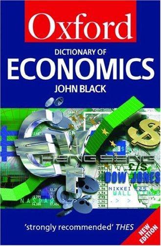 Download A dictionary of economics