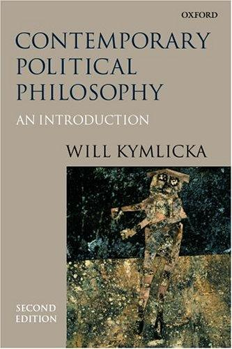 Download Contemporary political philosophy