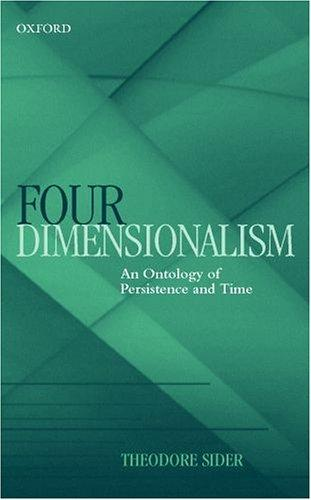 Four-Dimensionalism