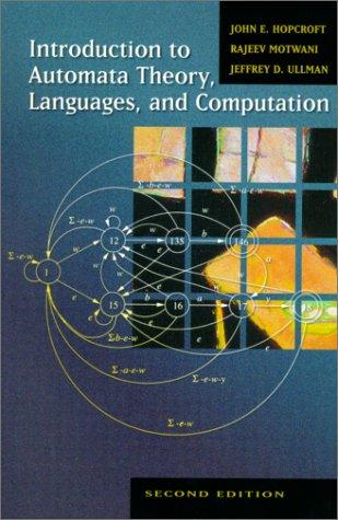 Download Introduction to automata theory, languages, and computation