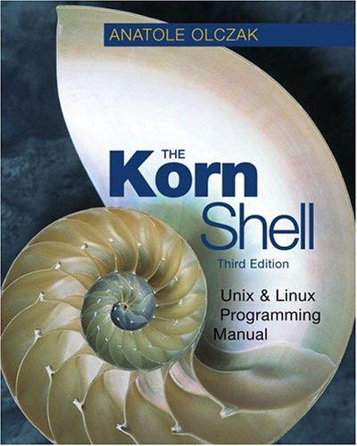 Download The Korn shell