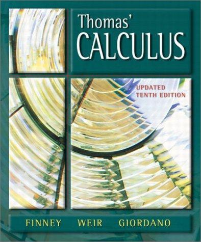 Thomas' calculus.