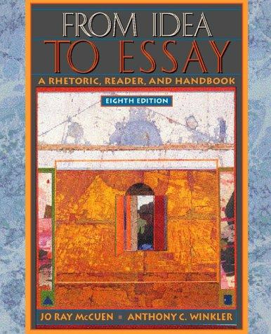 Download From idea to essay