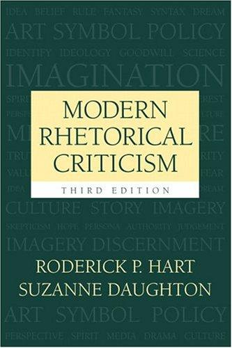 Download Modern rhetorical criticism