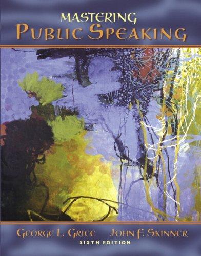 Download Mastering public speaking