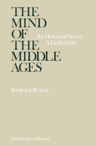 Download The mind of the Middle Ages, A.D. 200-1500