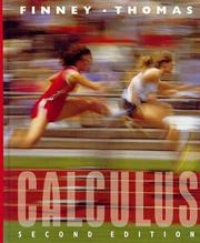 Calculus (2nd Edition) by Finney, Ross L. and Thomas, George B.