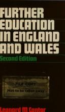 Further education in England and Wales