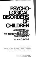 Download Psychological disorders of children