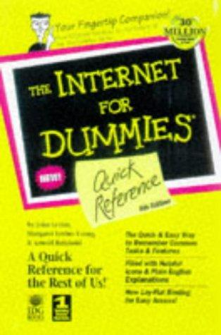 The Internet for dummies quick reference