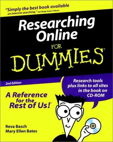 Researching online for dummies.
