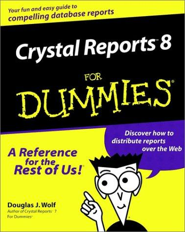 Download Crystal Reports 8 for Dummies