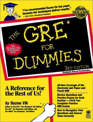 The GRE for dummies