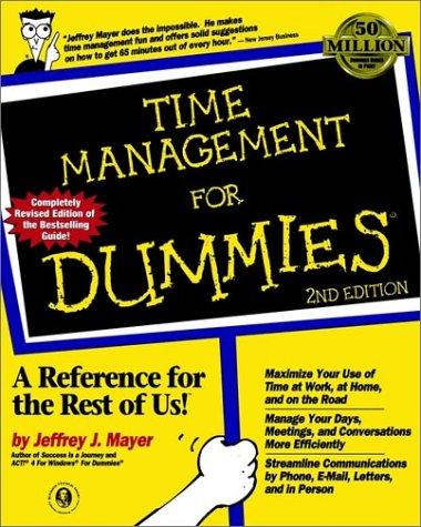 Download Time management for dummies