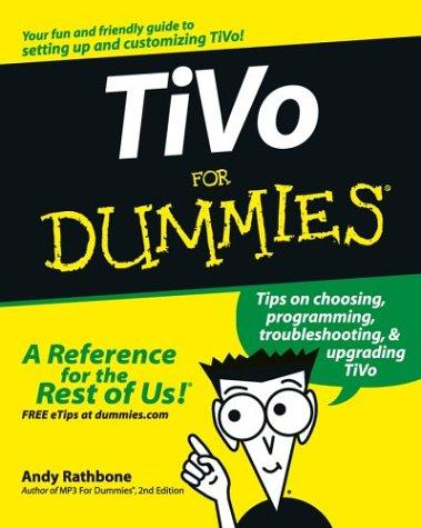 Download TiVo For Dummies