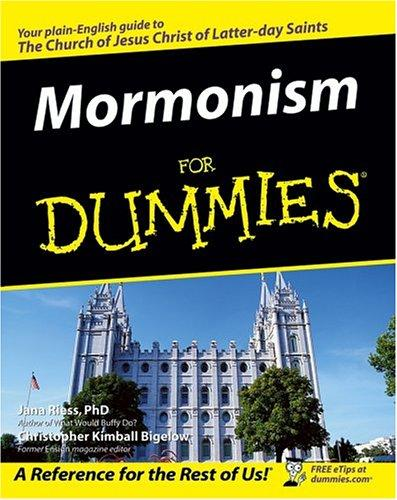 Mormonism for dummies by Jana Riess