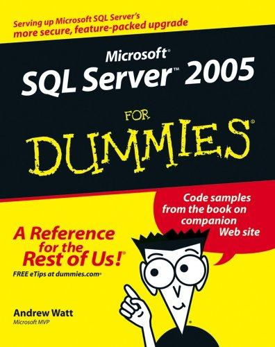 Download Microsoft SQL Server 2005 For Dummies