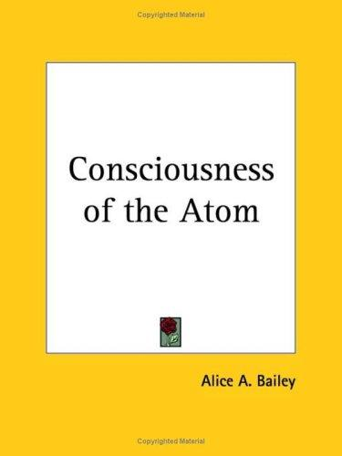 Download Consciousness of the Atom