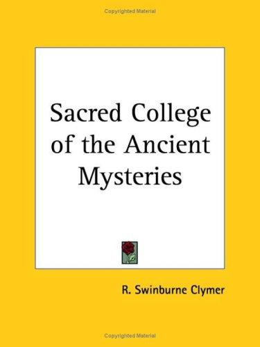 Sacred College of the Ancient Mysteries (Open Library)