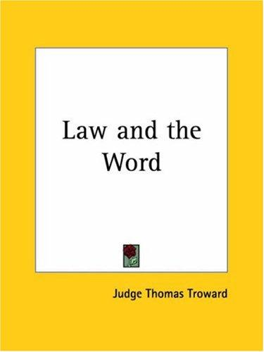 Download Law and the Word