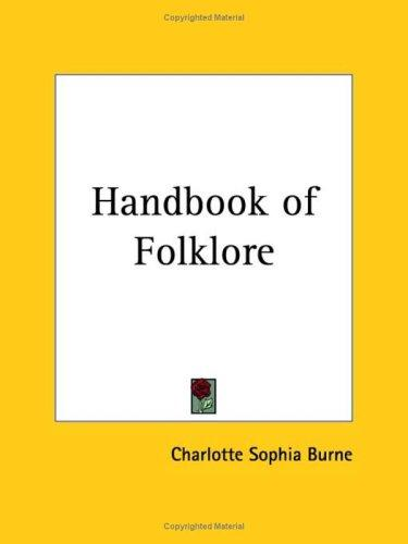 Download Handbook of Folklore