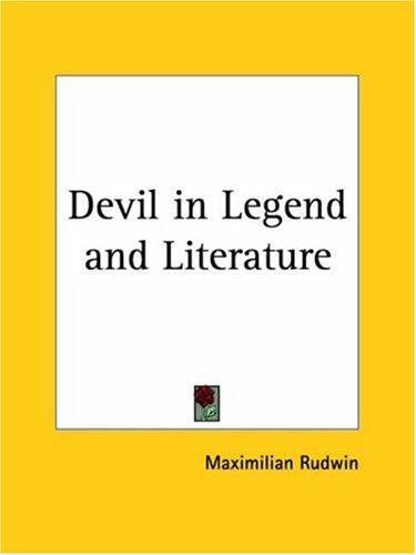 Devil in Legend and Literature