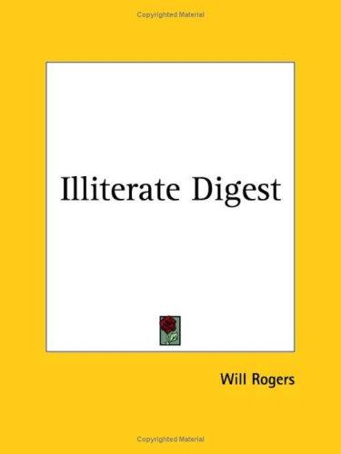 Download Illiterate Digest