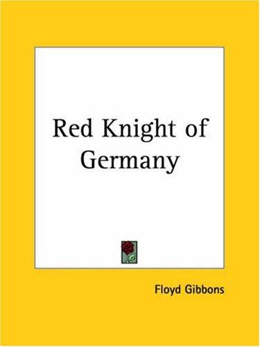 Red Knight of Germany