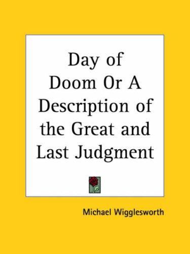 Download Day of Doom or A Description of the Great and Last Judgment