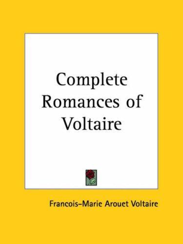 Download Complete Romances of Voltaire