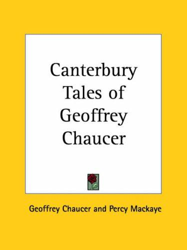 Download Canterbury Tales of Geoffrey Chaucer