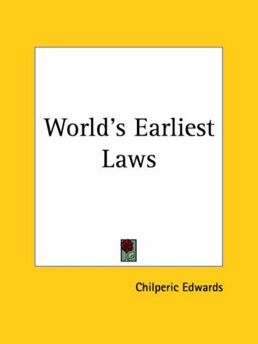 Download World's Earliest Laws