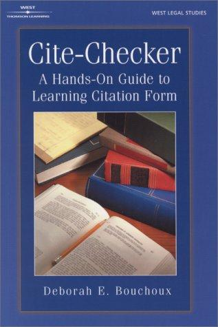 Cite Checker