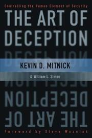 The Art Of Deception Controlling The Human Element Of Security PDF Download