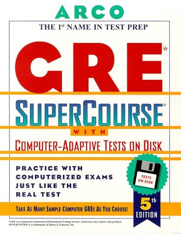 Arco GRE Supercourse with Interactive Software