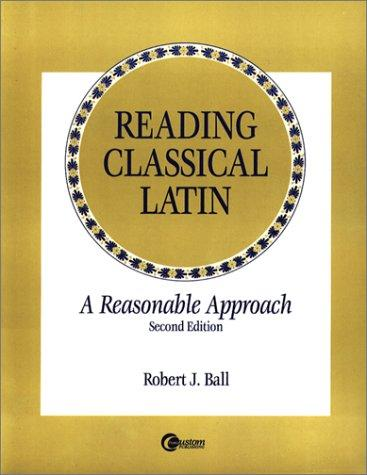 Download Reading Classical Latin