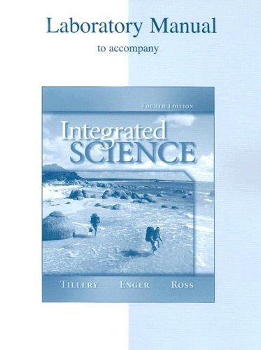 Download Lab Manual to accompany Integrated Science